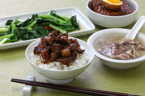 taiwanese home cooking - Stock Photo - Images