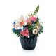 Flower arrangement in a blue vase - PhotoDune Item for Sale