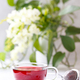 Healthy hibiscus tea in transparent cup - PhotoDune Item for Sale