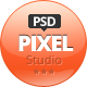 Pixel Studio - Premium Website Template - ThemeForest Item for Sale