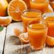 Fresh tangerine juice with slices of mandarin - PhotoDune Item for Sale