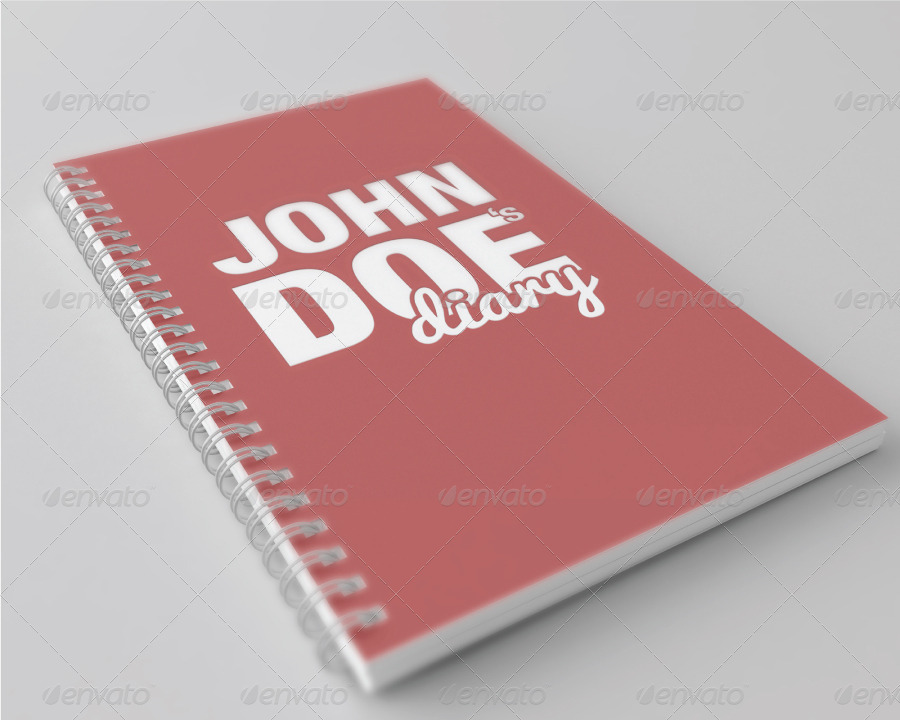 Notebook Mock Up By Obo Graphicriver
