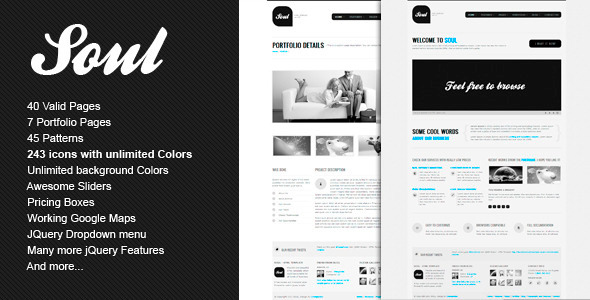 Free Download SOUL - Premium HTML Template Nulled Latest Version