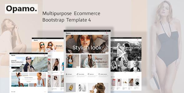 Opamo - Modern Fashion Shop HTML Template