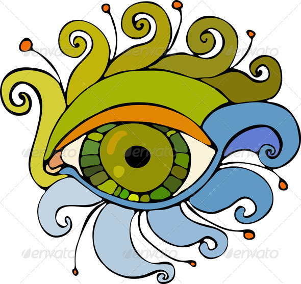Eye Isolated - Decorative Vectors