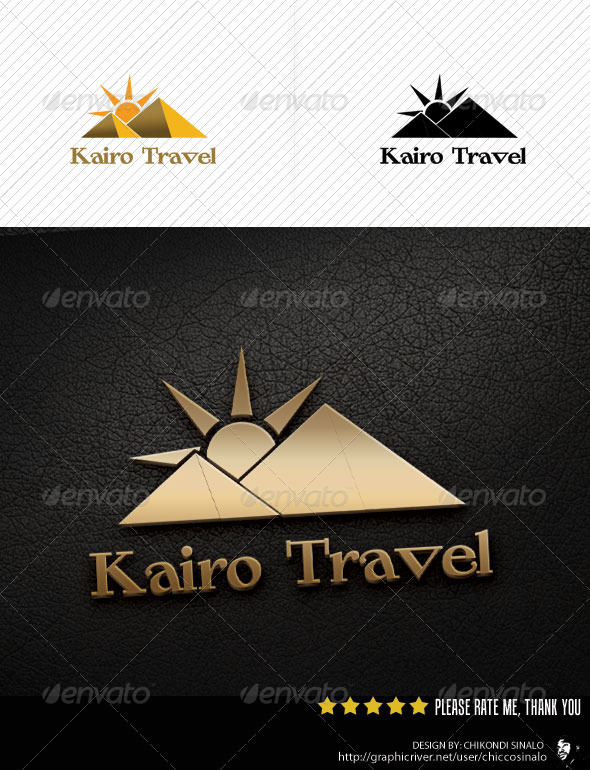 Kairo Travel Logo Template - Abstract Logo Templates