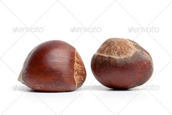 Fresh Sweet Chestnuts - Stock Photo - Images