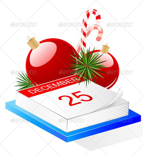 Desktop Calendar and Christmas Decoration - Christmas Seasons/Holidays