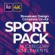 Sport Pack - Broadcast Design - VideoHive Item for Sale