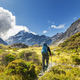 Hike in New Zealand mountains - PhotoDune Item for Sale