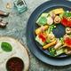 Mushroom salad with vegetables - PhotoDune Item for Sale