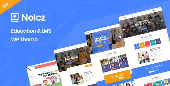 Download Nolez – Education WordPress Theme Free Nulled