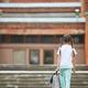 Girl Walking to School - PhotoDune Item for Sale