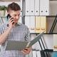 Businessman reading report - PhotoDune Item for Sale