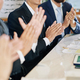 Clapping business people - PhotoDune Item for Sale