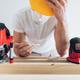 Builder unable to work during the coronavirus lockdown - PhotoDune Item for Sale