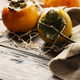 Fresh sweet persimmon - PhotoDune Item for Sale