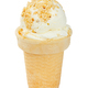 Vanilla ice cream with nuts in waffle cup - PhotoDune Item for Sale