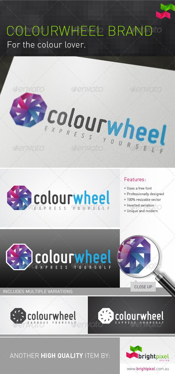 Colourwheel Brand - Abstract Logo Templates