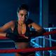 Female kickboxer having rest after fight - PhotoDune Item for Sale