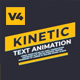 Kinetic Text Animations V 0.4 - VideoHive Item for Sale