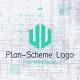 Blueprint Scheme Logo - VideoHive Item for Sale