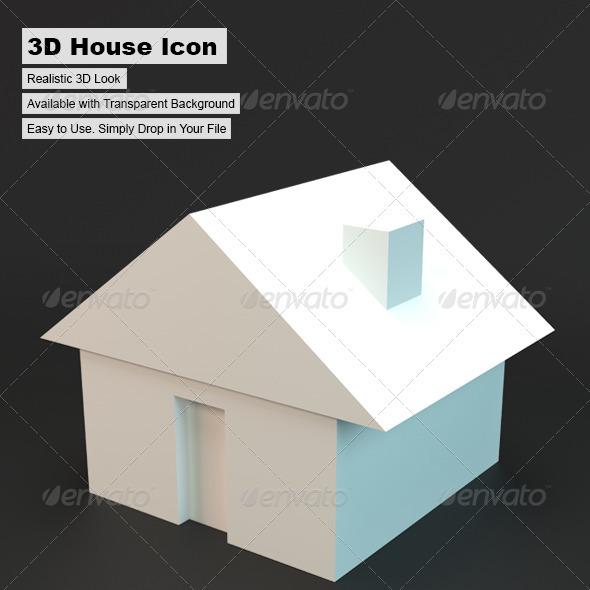 3d House - Architecture 3D Renders