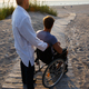 Young man in wheelchair and his doctor. - PhotoDune Item for Sale