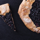 Galette with blueberries  Sweet pastries - PhotoDune Item for Sale