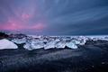 Diamond Beach in Winter in Iceland - PhotoDune Item for Sale