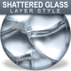 Shattered Glass Seamless Layer Styles - GraphicRiver Item for Sale