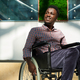 African man in wheelchair - PhotoDune Item for Sale