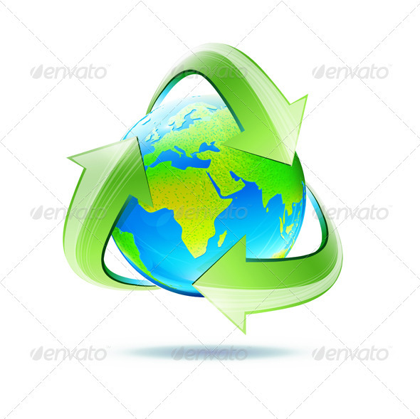 recycle symbol - Vectors