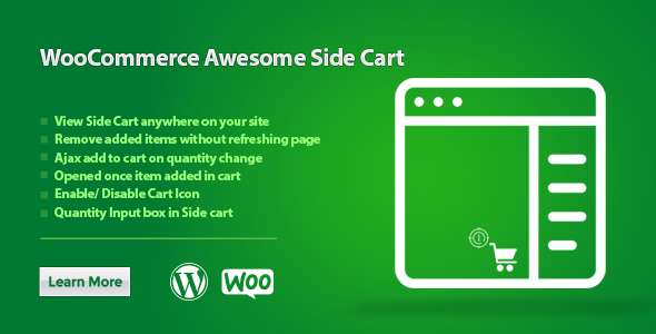 Download WooCommerce Awesome Side Cart Free Nulled