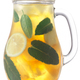 Herbal sage mint lemon iced tea pitcher isolated w clipping paths - PhotoDune Item for Sale