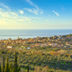 San Vincenzo travel destination view at sunset. Maremma, Livorno, Tuscany, Italy. - PhotoDune Item for Sale