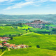 Langhe vineyards panorama, Roddi village, Piedmont, Italy Europe. - PhotoDune Item for Sale