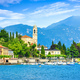 Tremezzo Tremezzina view, Como Lake district landscape. Italy, Europe. - PhotoDune Item for Sale