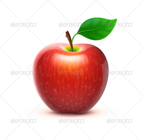 Red Apple - Vectors