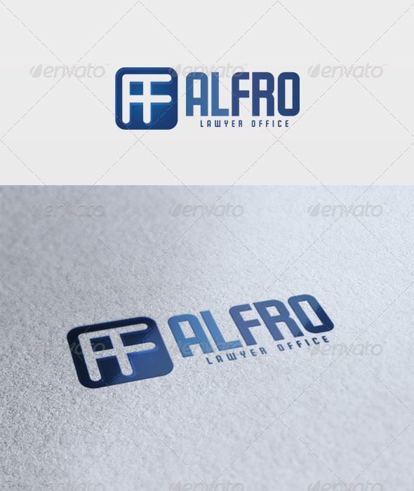 Alfro Logo - Letters Logo Templates