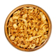 French fried onions, crisp deep fried slices of onions in wooden bowl - PhotoDune Item for Sale