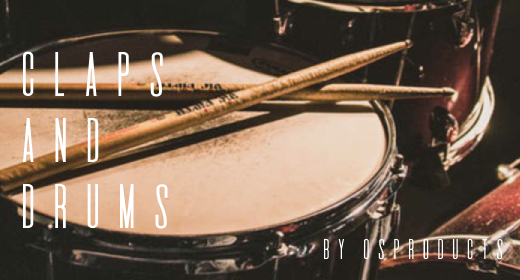 CLAPS and DRUMS