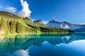 Beautiful emerald lake, Yoho national park, British Columbia, Canada - PhotoDune Item for Sale
