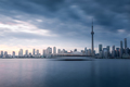 Toronto city skyline at night, Ontario, Canada - PhotoDune Item for Sale