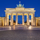 The famous illuminated Brandenburg Gate - PhotoDune Item for Sale