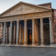 The Pantheon in Rome early in the morning - PhotoDune Item for Sale