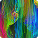 Colorful String Particles Background HD - VideoHive Item for Sale