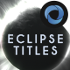Eclipse Titles  l  Planet Titles  l  Dark Side Planet  l  Solar Eclipse Titles - VideoHive Item for Sale