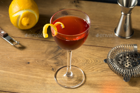 Homemade Classic Old Pal Cocktail - Stock Photo - Images