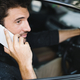 Man making a call in his car - PhotoDune Item for Sale